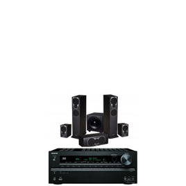 Mission MX3 Speaker Package And Onkyo TX-SR609 Network Receiver With Free Cable Pack