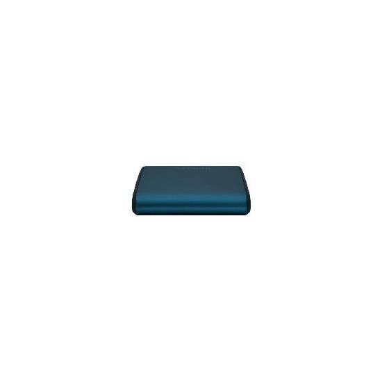 Hitachi 500GB Portable Hard Drive - Blue dusk