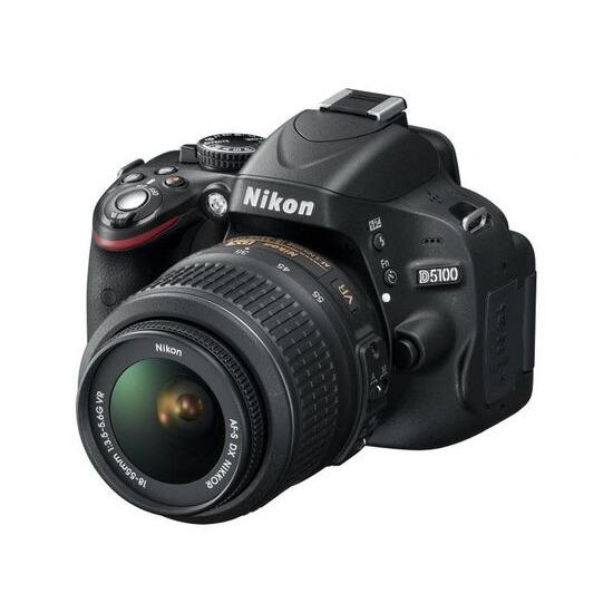 Nikon D5100 with 18-55mm lens