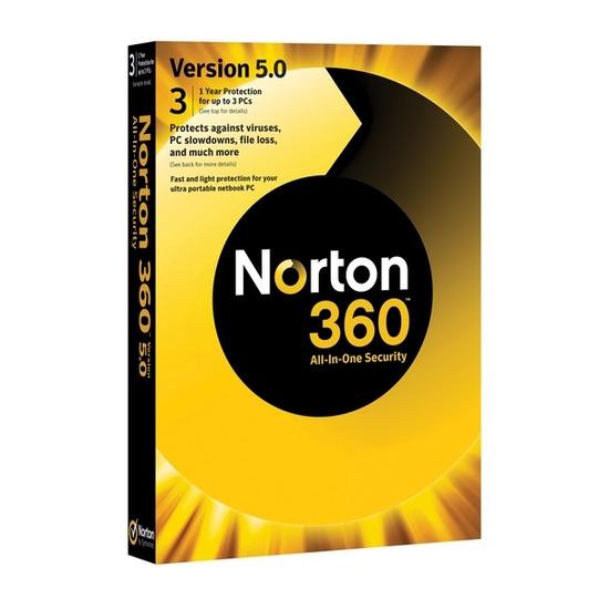 Symantec Norton 360 Version 5.0