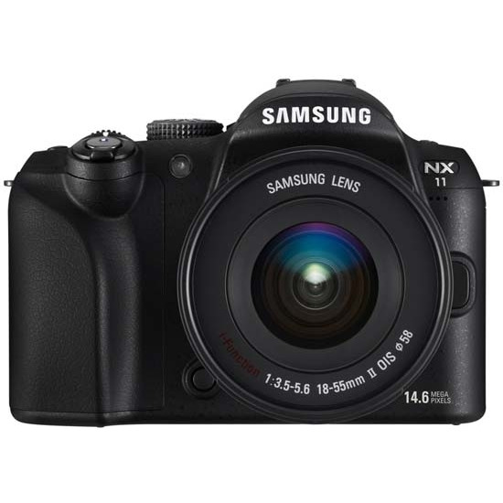Samsung NX11 with 18-55mm and 20mm lenses