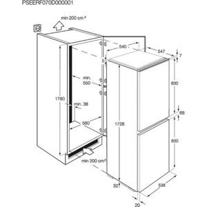 Photo of AEG SCN71800S0 Fridge Freezer