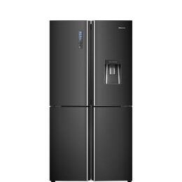 Hisense RQ689N4WF1 Fridge Freezer - Black Steel Reviews