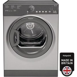Hotpoint TVFS73BGG9 7kg Freestanding Vented Tumble Dryer Graphite Reviews