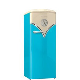 GORENJE Retro Special Edition OBRB153BL Tall Fridge - Blue