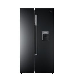 Haier HRF-522IB6 American-Style Fridge Freezer - Black Reviews
