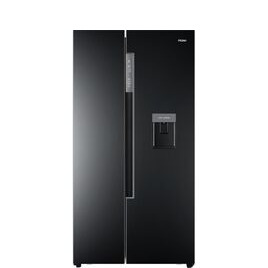 Haier HRF-522IB6 American-Style Fridge Freezer - Black Reviews