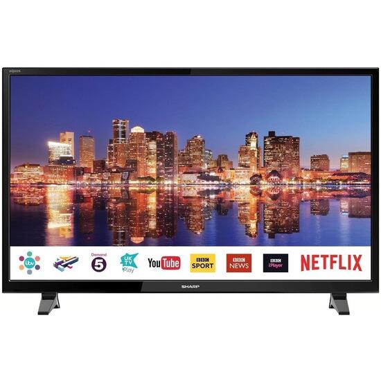 Sharp LC-40FG3021KF 40 Inch Full HD 1080p Smart D-LED TV