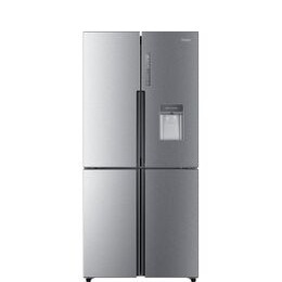 Haier Cube HTF-456WM6 Fridge Freezer - Silver Reviews