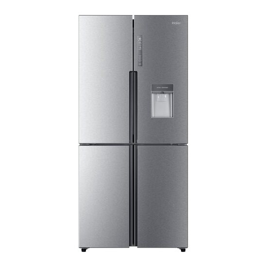 Haier Cube HTF-456WM6 Fridge Freezer - Silver