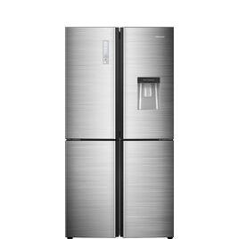 Hisense RQ689N4WI1 Fridge Freezer - Stainless Steel Reviews
