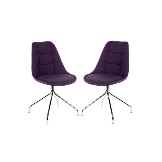 Teknik Breakout Fabric Chair - Plum