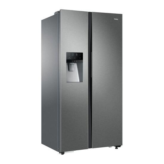 Haier HRF-636IM6 American-Style Fridge Freezer - Silver
