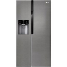 LG GSL360ICEZ Side-by-side American Fridge Freezer With Ice And Water - Stainless Steel Reviews