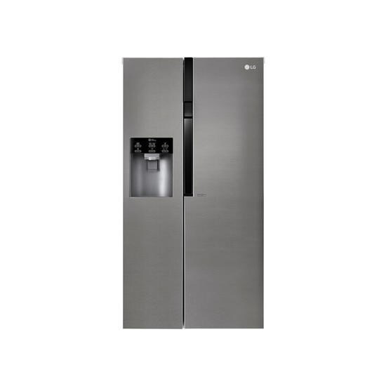LG GSL360ICEZ Side-by-side American Fridge Freezer With Ice And Water - Stainless Steel