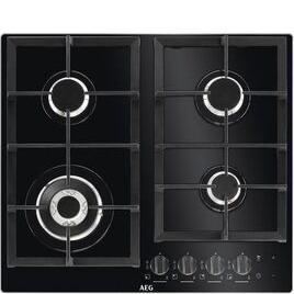 AEG HKB64NB540 Black glass 4 burner gas hob Reviews