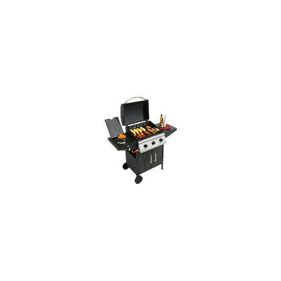 Landmann 3 burner gas bbq with side burner