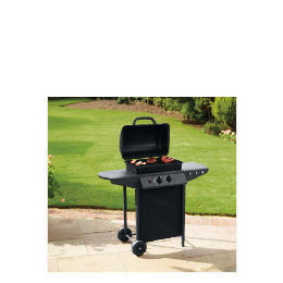 Tesco 2 burner gas bbq with side tables Reviews