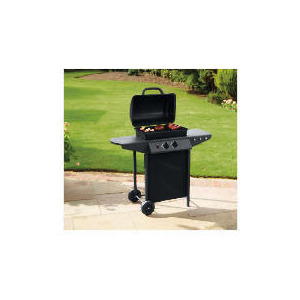 Photo of Tesco 2 Burner Gas BBQ With Side Tables BBQ