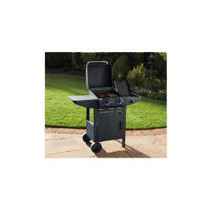 Photo of Tesco 2 Burner With Side Burner & Cabinet BBQ