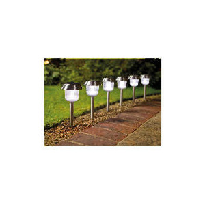 Photo of Tesco Super Bright Solar Markers 6 Pack Lighting
