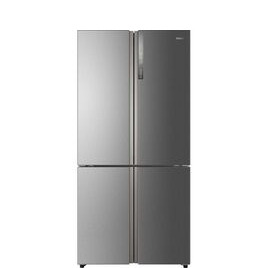 Cube HTF-610DM7 Fridge Freezer - Silver Reviews