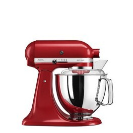 KitchenAid 5KSM175PSBER 4.8 Lite Stand Mixer with 300W and 10 Speeds in Red Reviews