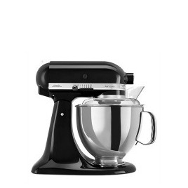 KITCHENAID Artisan 5KSM175PSBOB 4.8 Lite Stand Mixer with 300W and 10 Speeds in Black Reviews