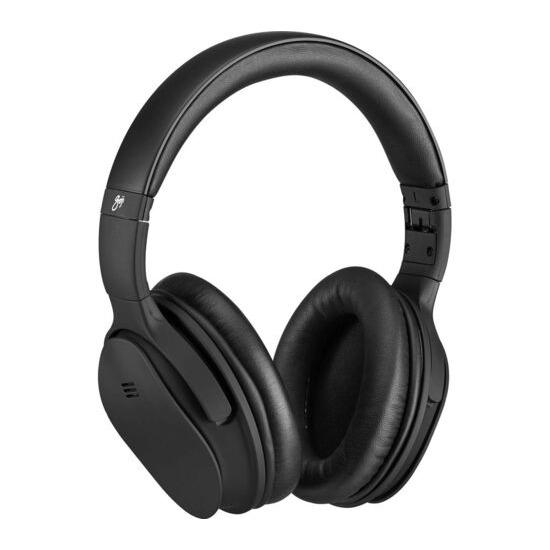 Goji GTCBTNC18 Wireless Bluetooth Noise-Cancelling Headphones - Black