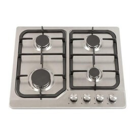 Montpellier GH61X 60cm Four Burner Gas Hob - Stainless Steel Reviews
