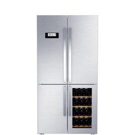 GQN21220WX Fridge Freezer - Stainless Steel Reviews