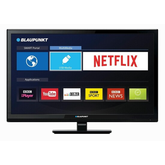 Blaupunkt 236/207M 23.6 Inch HD Ready Smart TV/DVD Combi with PVR