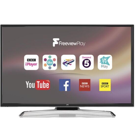 JVC LT-40C880 40 Smart 4K Ultra HD HDR LED TV