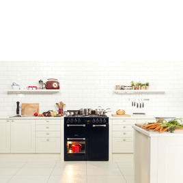 Leisure CK90F530X 90 cm Dual Fuel Range Cooker - Stainless Steel & Chrome Reviews