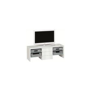 Photo of Jahnke Studio Line 4500 Extra Wide TV Stand - Gloss White TV Stands and Mount