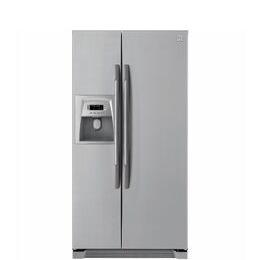 DAEWOO FRSU20DCI American-Style Fridge Freezer - Silver Reviews