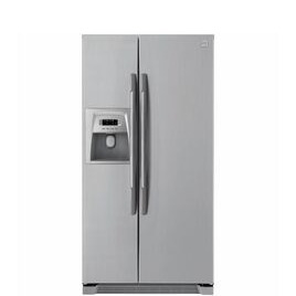 DAEWOO FRSU20DCI American-Style Fridge Freezer - Silver Reviews
