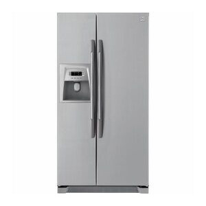 Photo of DAEWOO FRSU20DCI American-Style Fridge Freezer - Silver Fridge Freezer