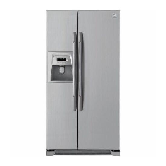 DAEWOO FRSU20DCI American-Style Fridge Freezer - Silver