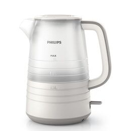 Philips Daily Collection HD9334/12 Jug Kettle - White & Blue Reviews