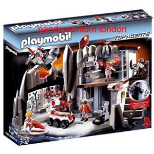 Photo of Playmobil 4875 Secret Agent Headquarters Toy
