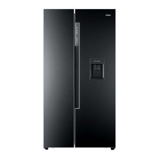 Haier HRF-522WBB6 American-Style Fridge Freezer - Black