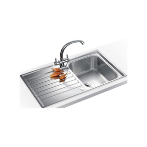 Photo of Franke ASX611PACK Steel Inset 1 Bowl Sink Kitchen Sink