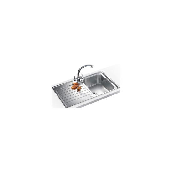 Franke ASX611PACK Steel Inset 1 bowl sink