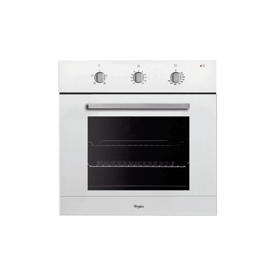 Whirlpool built in electric oven - White AKP 436/WH