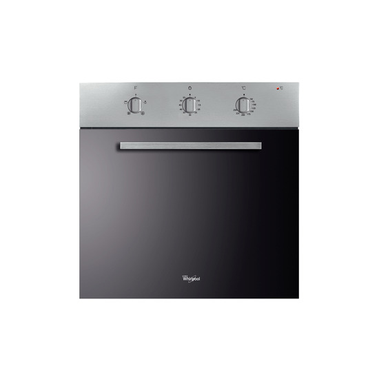 Whirlpool built in electric oven - Stainless Steel AKP 490/IX