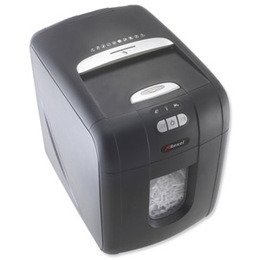 Rexel Auto+ 100X confetti cut shredder