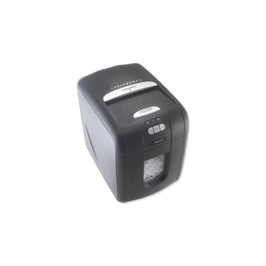 Rexel Auto+ 100X confetti cut shredder