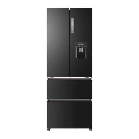Haier HB16WSNAA Fridge Freezer - Black Stainless Steel