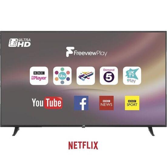 JVC LT-65C880 65 Smart 4K Ultra HD HDR LED TV
